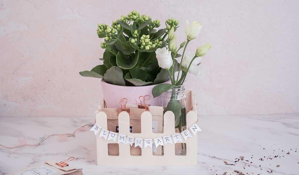 Blumengarten to go als Geschenkidee