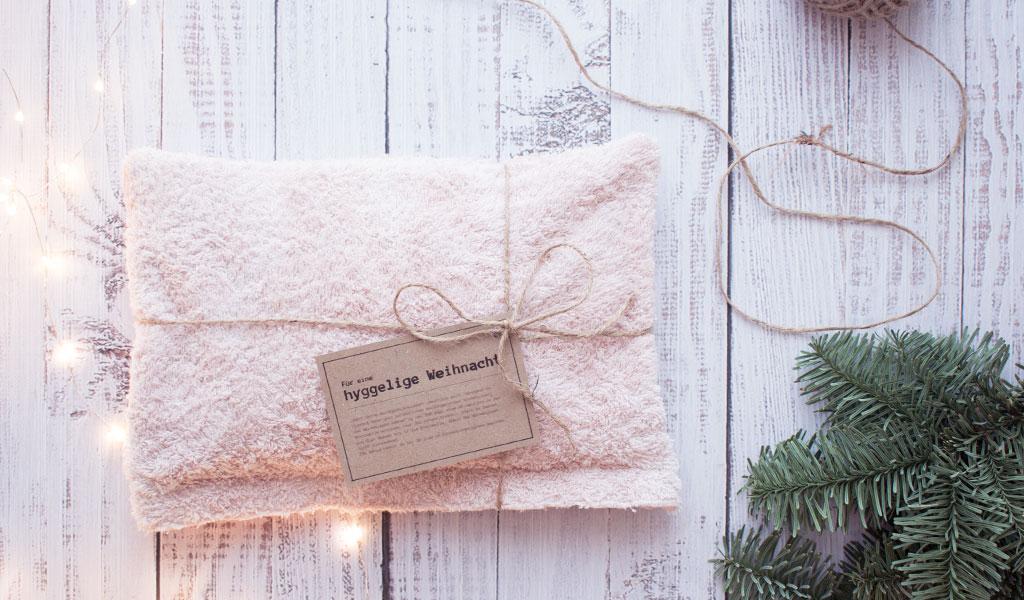 Wärmekissen als weihnachtliche Geschenkidee