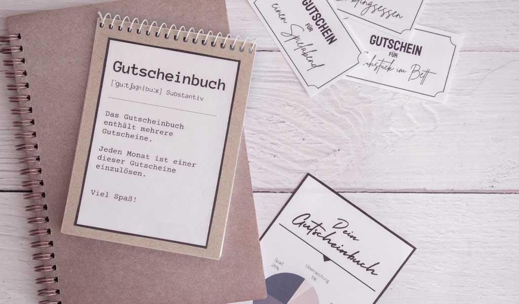 DIY Gutscheinbuch