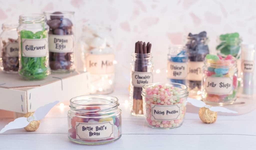 Harry Potter Candy Bar als Geschenkidee