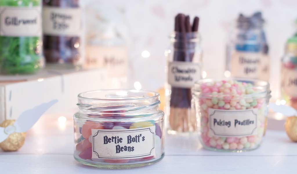 Harry Potter Candy Bar mit Bertie Botts Bohnen