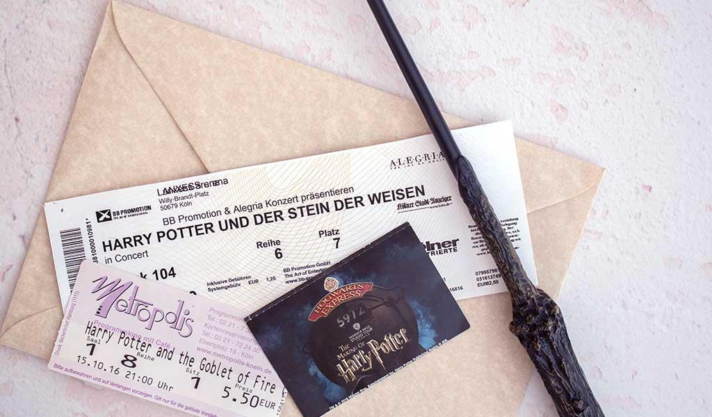 Harry Potter Erlebnis verschenken