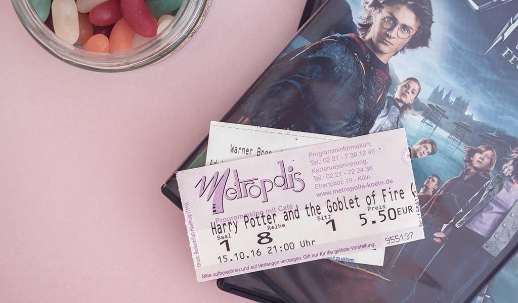 Harry Potter im Kino schauen