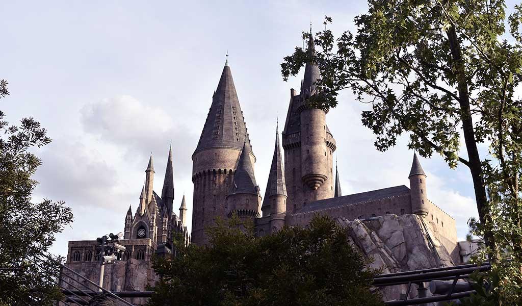 Hogwarts in den Universal Studios in Orlando