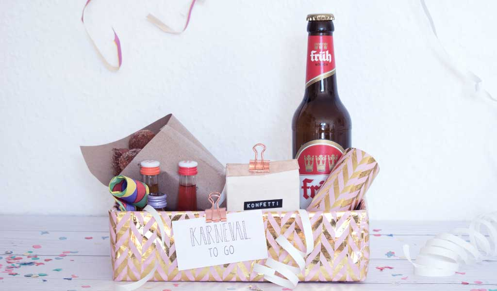 DIY Karneval to go Box