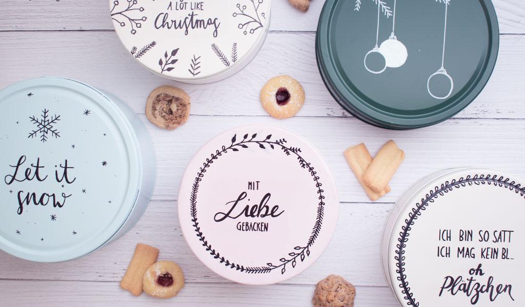 Keksdosen als kreative Geschenkverpackungen
