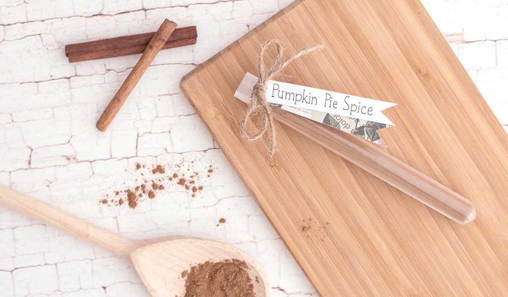 DIY Gewürz Pumpkin Pie Spice als Geschenkideen für das Pumpkin Patch