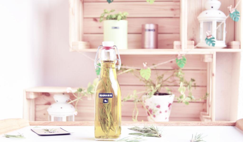 Rosmarinöl als schnelles DIY Geschenk