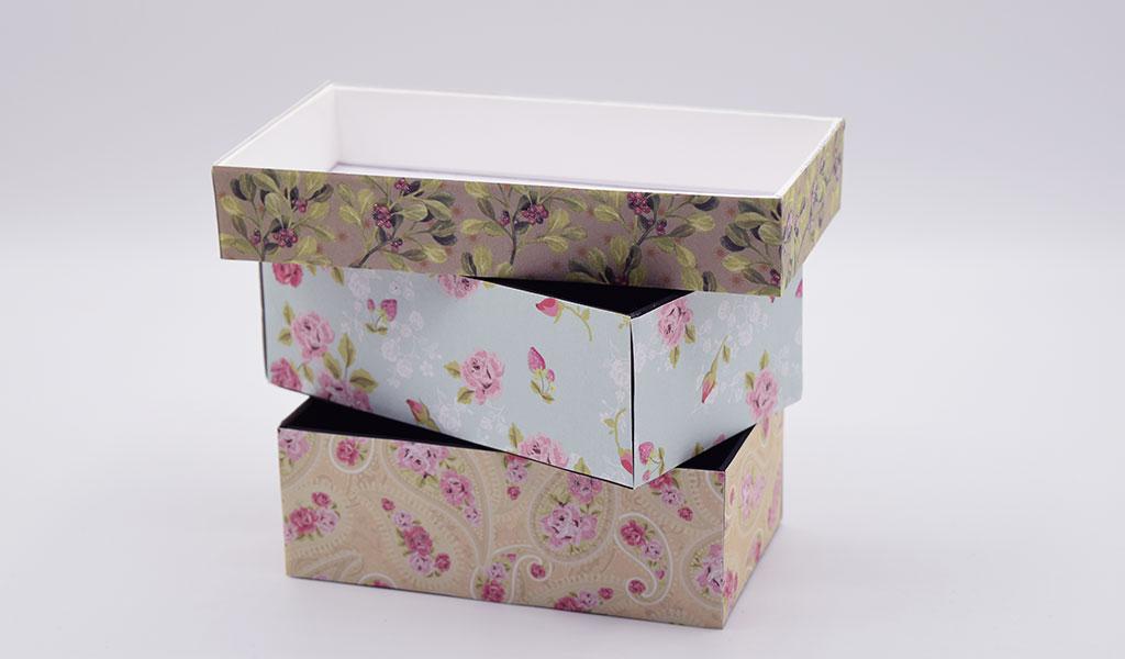 Kleine Schachteln als kreative Geschenkverpackungen