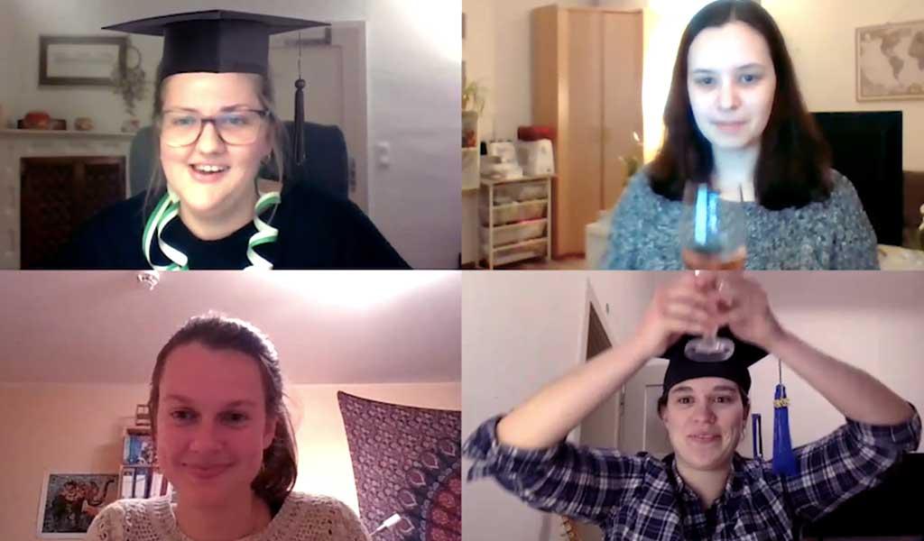Videobotschaft: Glas weiterreichen