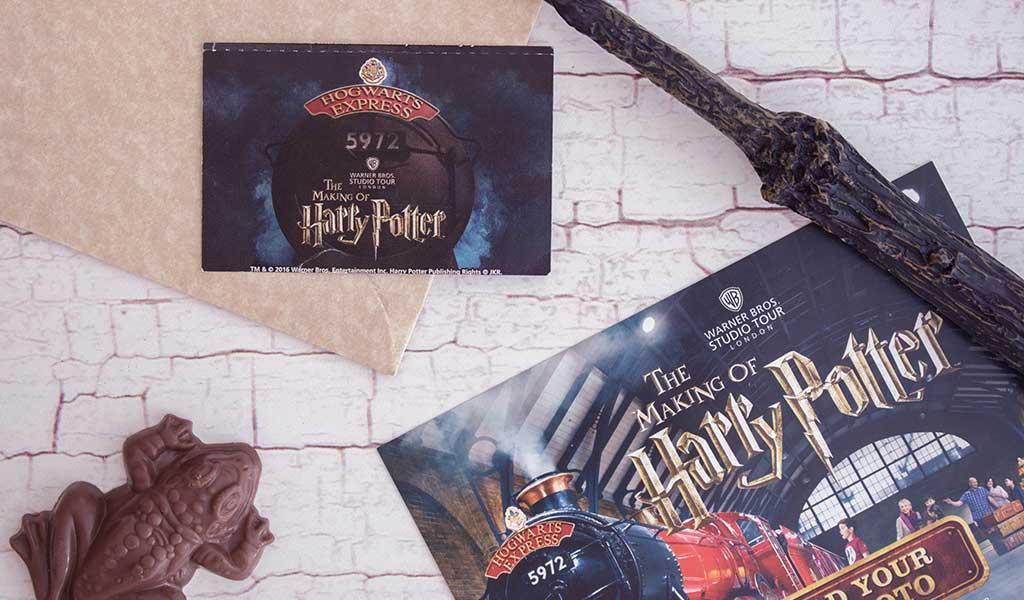Harry Potter Studio Tour als Harry Potter Erlebnis verschenken