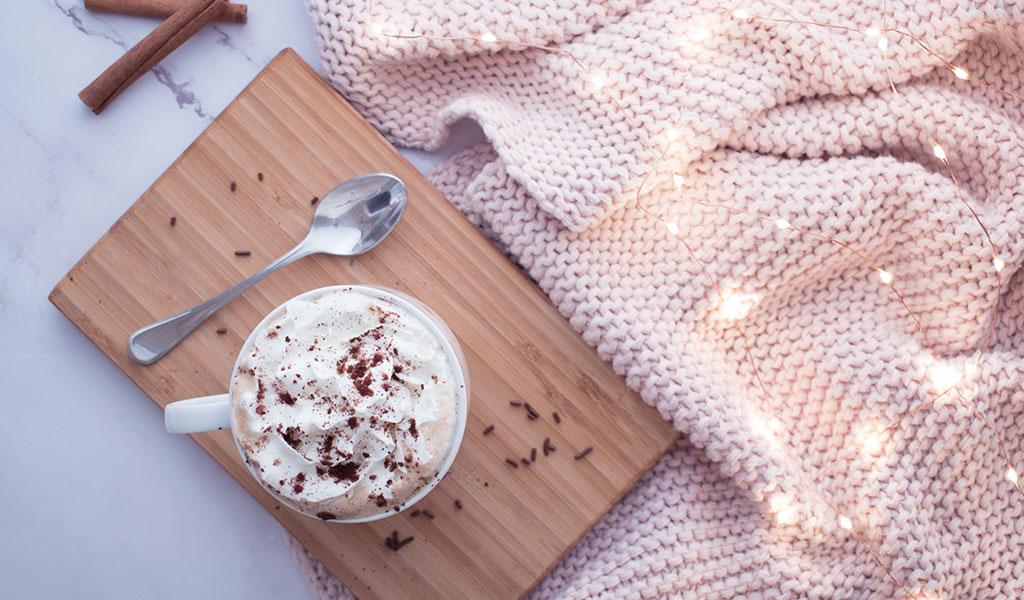 DIY winterlicher Kaffee als winterliche DIY Geschenkidee