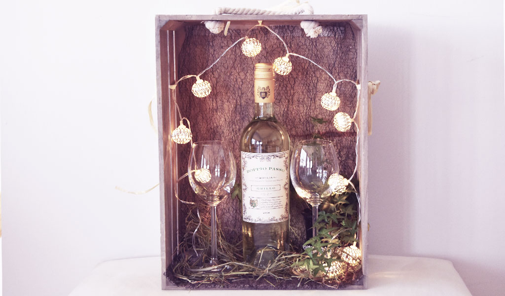 Eine weitere selbstgemachte Weinlaube