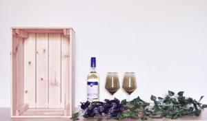 Materialien für die DIY Weinlaube