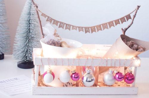 DIY Weihnachtsmarkt to go als weihnachtliche Geschenkidee