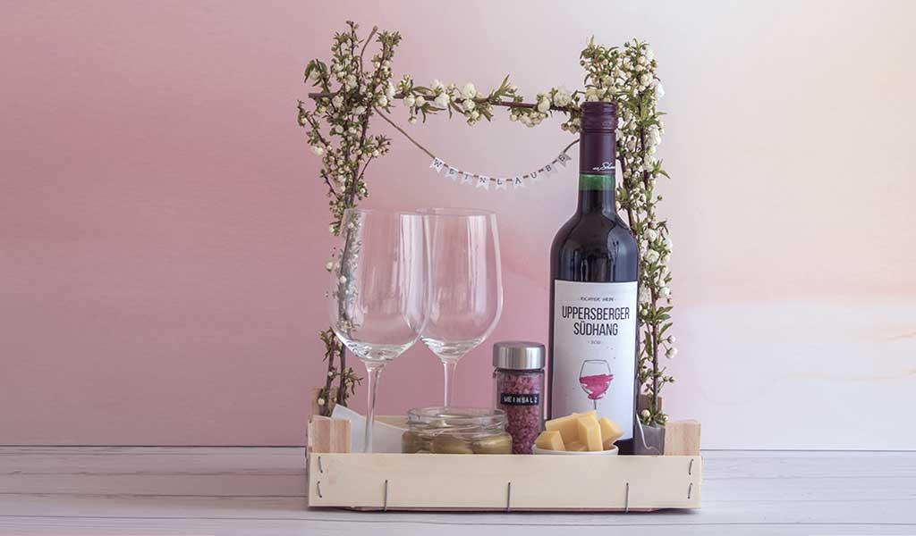 Weinlaube Geschenk