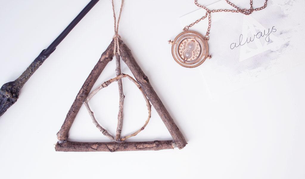 Heiligtümer des Todes Zeichen aus Ästen, Harry Potter Geschenkidee