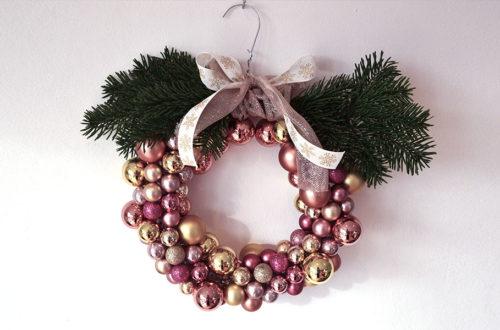 DIY Weihnachtskranz zum Verschenken